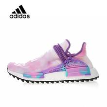 pretty nice 8f31b 4a7f6 Original Adidas authentique Hu Trail Holi Pack x Pharrell hommes chaussures  de course pour femmes Sport