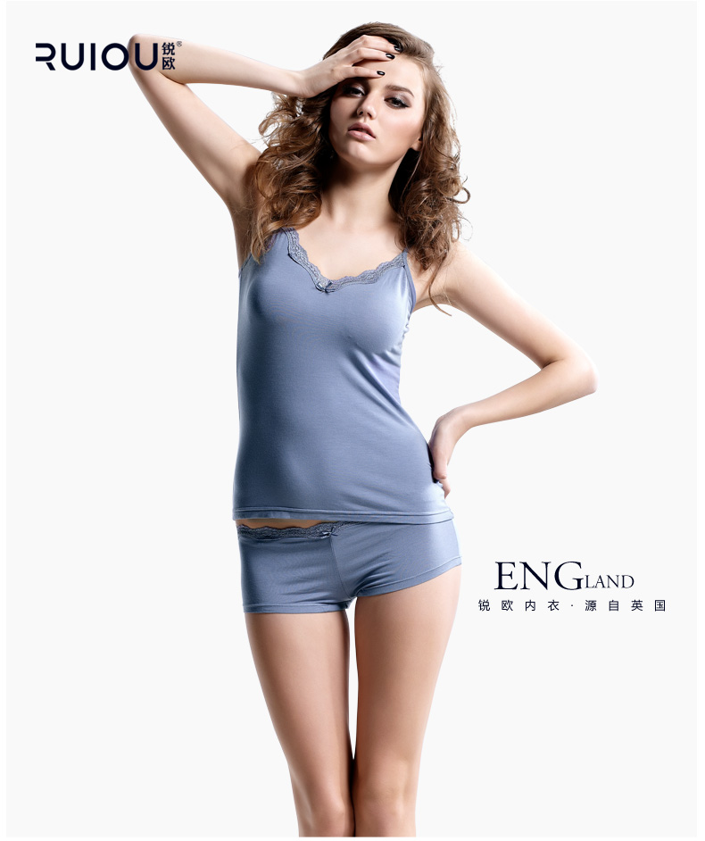 fe3ea46a48 Fashion Sexy Pyjamas Women Modal Fabric Lace Suspenders Shorts ...