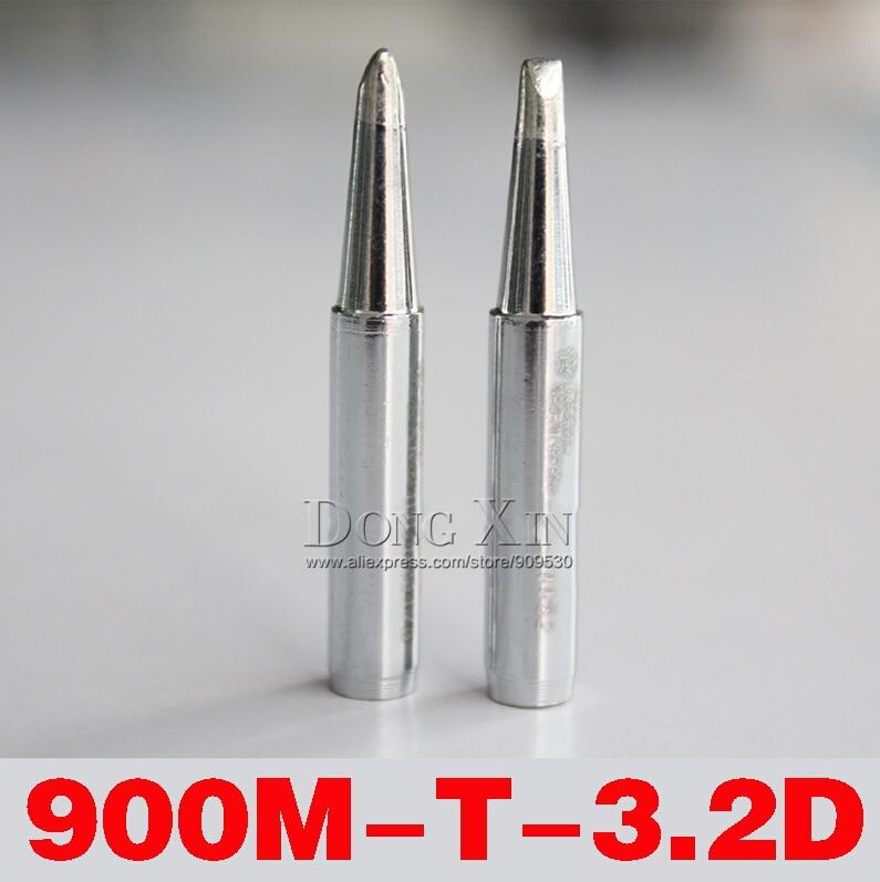 10 шт./лот Высокое качество для припой HAKKO станция 936/937 паяльник советы свинец 900M-T-3.2D