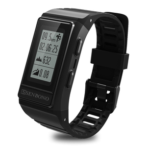 Image 3 - SENBONO S909 GPS ספורט חכם להקת צג Cardiaco פעילות Tracker גובה קצב לב כושר צמיד גברים IP68 עמיד למים