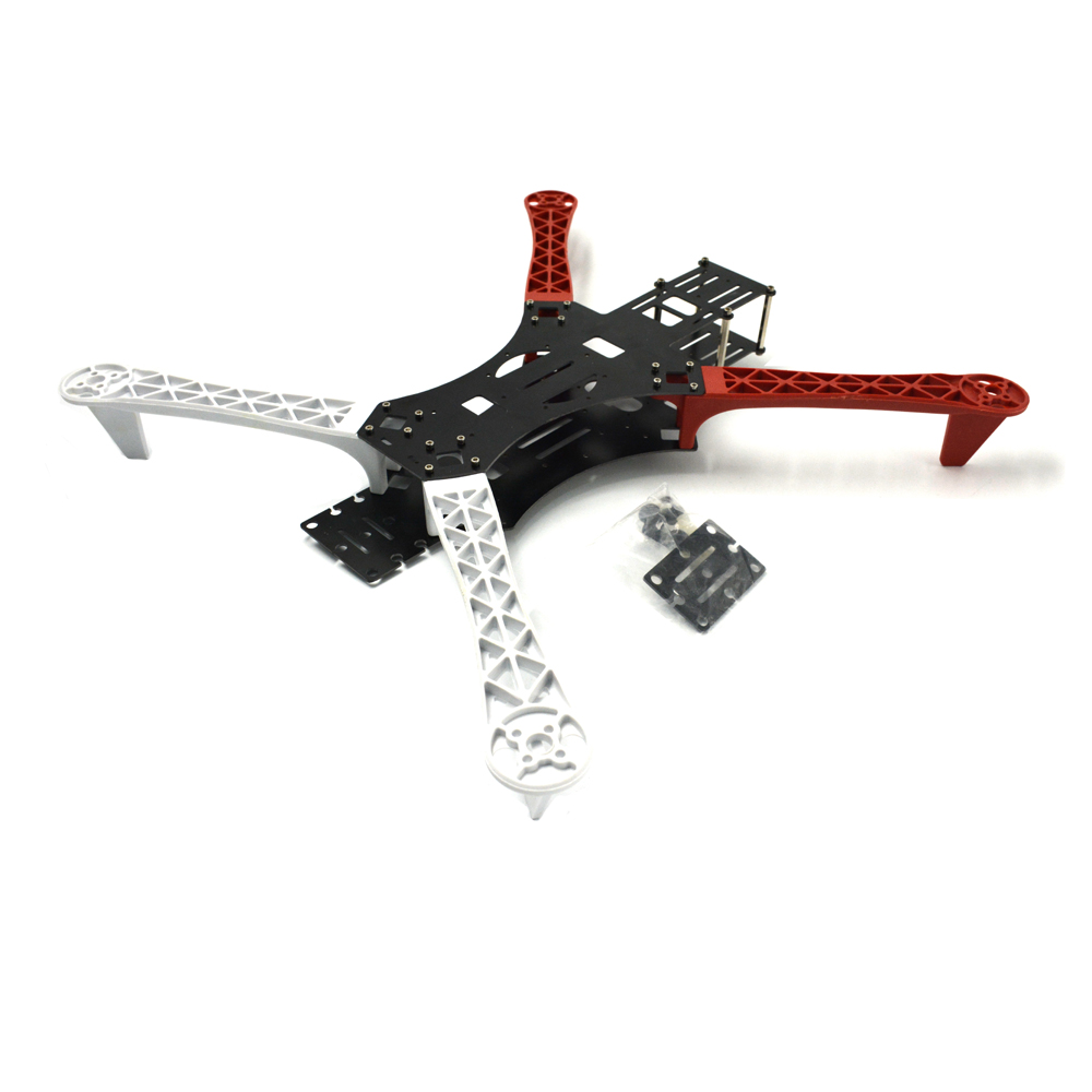Drone With Quadcopter Mwc X-mode Alien Multicopter Quadcopter Frame Kit Random Color As Hj Apm Gps Freeshipping