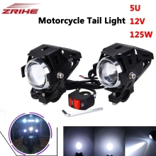 Motorcycle LED Headlight Driving Spot Head Lamp Fog Light for KTM Bajaj PulsaR 200 NS 1190 AdventuRe R 1050 RC8 Duke