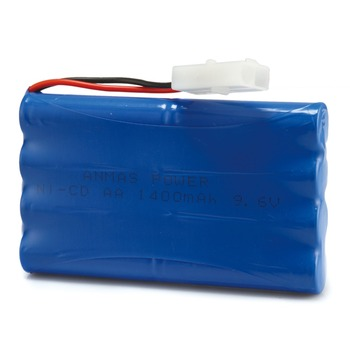 1/2/4 Pack 1400mAh 9.6V NI-CD Rechargeable Battery