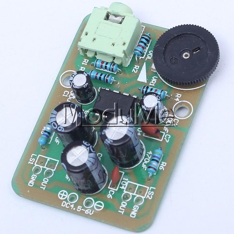 AMP-1 TDA2822M Power Amplifier Module DIY Kit Electronic Production
