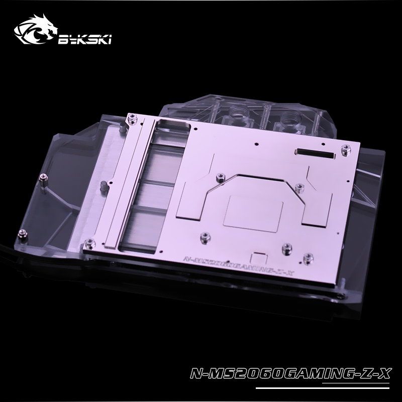 MSI GeForce RTX 2060 Gaming Z 6G, 6GB GDDR6 water block (8)