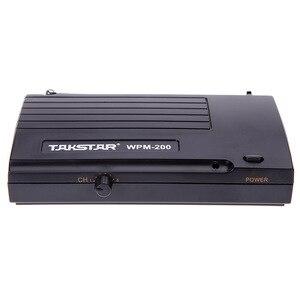Image 2 - Takstar WPM 200/WPM 200R système de surveillance sans fil UHF 50m Distance de Transmission dans loreille casque stéréo émetteur récepteur