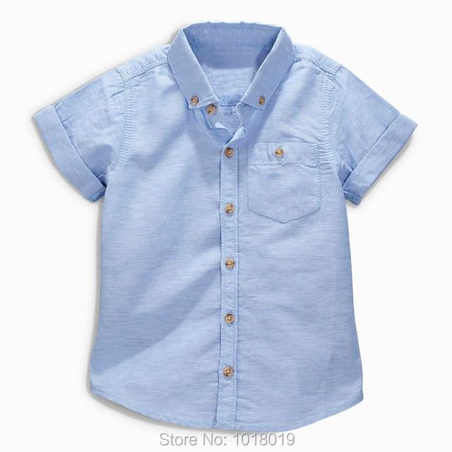 7fdda8b001b4 New 2017 Brand Quality 100% Cotton Baby Boys Shirts Summer Kids Clothing  Children Clothes Short