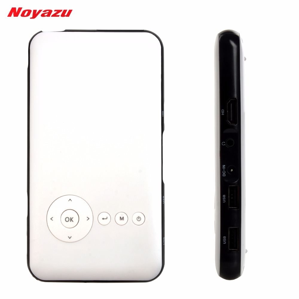 Noyazu 1080p hdmi input smartphone handheld portable for Portable projector with hdmi input