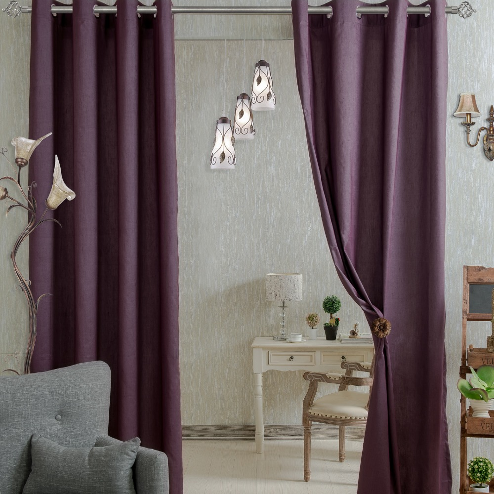 Purple Living Room Curtains Popular Modern Living Room Curtains Buy Cheap Modern Living Room