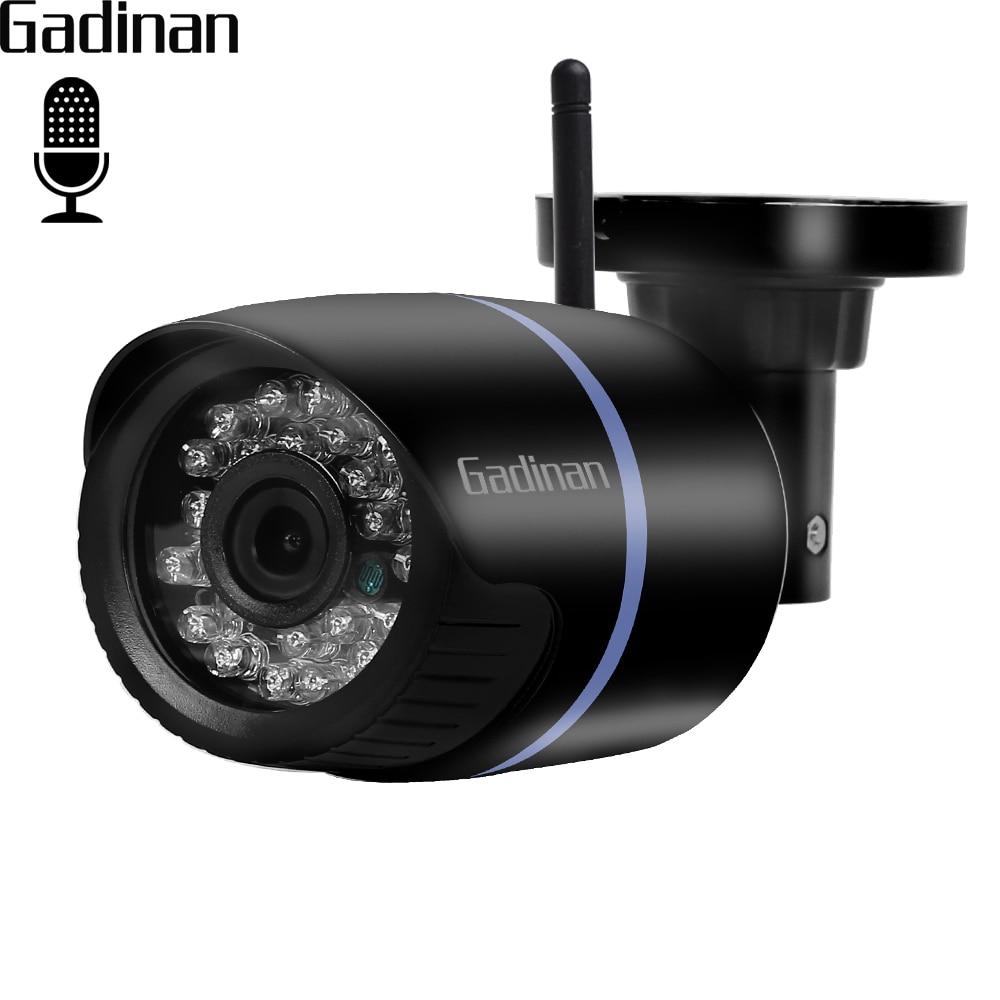 GADINAN H.264 720P 960P H.265 1080P WiFi Audio IP Camera Internal Pickup Function Motion Detection Email Alert CCTV ONVIF