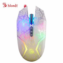 A4tech Bloody N50 RGB gaming mouse FPS RPG mouse LOL Dota CF CS laptop USB Wired sport mice 4000 DPI Skilled sport mouse