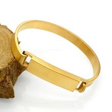 Personalized Stainless Steel Bracelets Engraved Bracelet Jewelry For Men