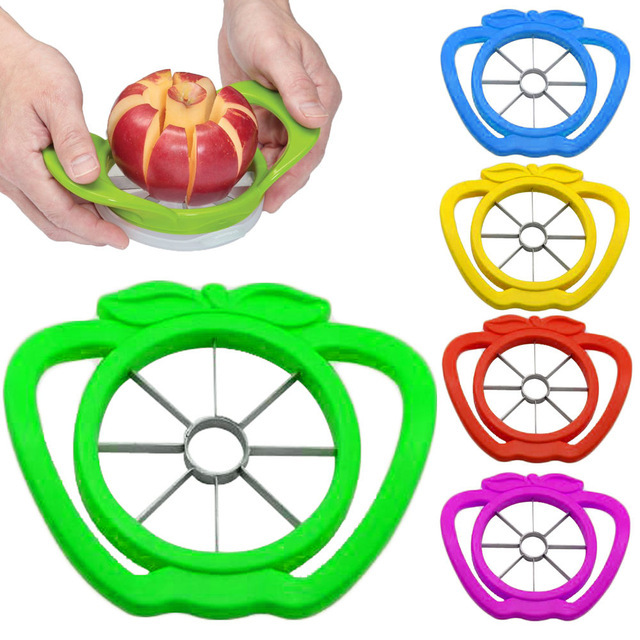 Apple cutter knife corers fruit slicer Multi-function ABS+ stainless steel kitchen cooking Vegetable Tools Chopper free shipping