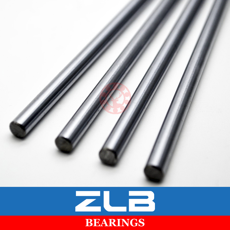 4Pcs Linear Shaft 8mm WCS Bearing Axis Router Round Chrome Steel 450mm Hardened 3D Printer Linear Motion Slide Rod Rail CNC sc8uu scs8uu 8mm slide unit block bearing steel linear motion ball bearing slide bushing shaft cnc router diy 3d printer parts