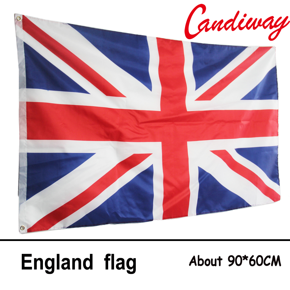 10pcs lot national flag country flag stick flags flag of the united - 90 X 60cmthe United Kingdom Flag Home Decoration British Flag The England National Flag Flags Nn005