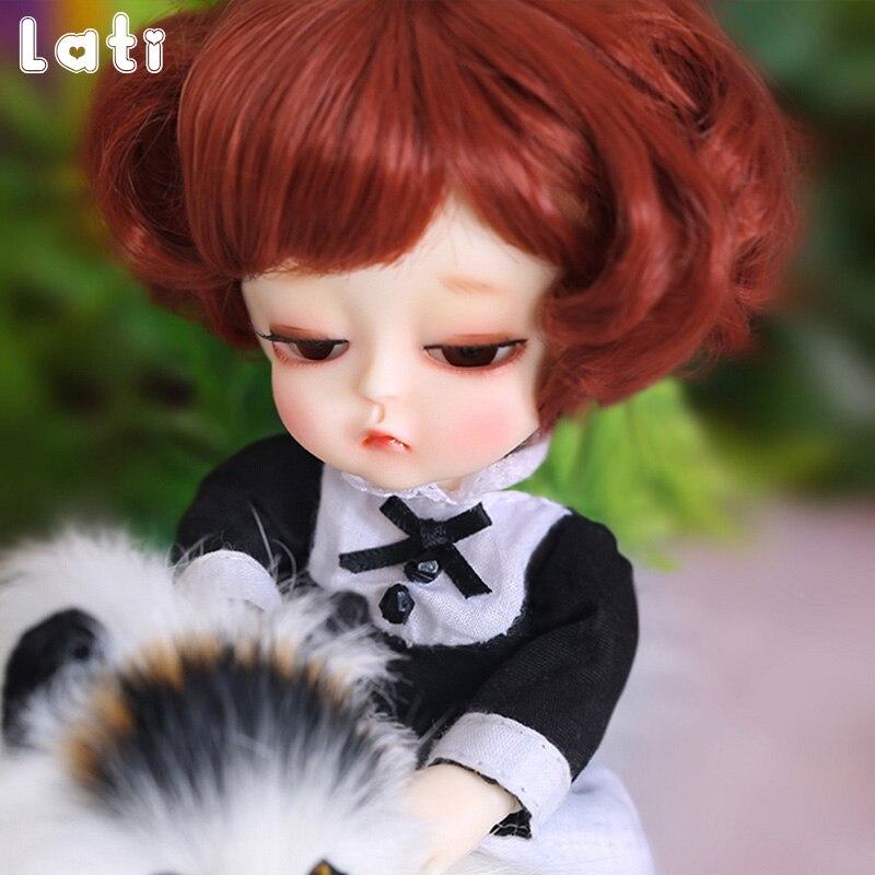 цена на Oueneifs Lati Yellow G.B Mystic 1/8 BJD SD Resin Figures Body Model Baby Girls Boys Dolls Eyes High Quality Toy Gifts