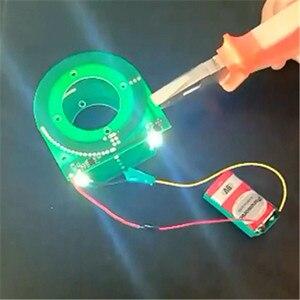 Image 4 - 5 шт./лот PCB модуль беспроводного питания, регулируемый модуль беспроводной передачи, чип 5 в 12 В 14 в, большой выход напряжения