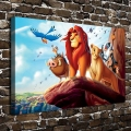 A2995Simba Timon The Lion King Children Animation.HD Canvas Print Home decoration Living Room bedroom Wall pictures Art painting