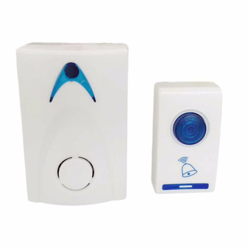 504D LED Wireless Chime Door Bell Doorbell & Wireles Remote control 32 Tune Songs White Home Security Use Smart Door Bell504D LED Wireless Chime Door Bell Doorbell & Wireles Remote control 32 Tune Songs White Home Security Use Smart Door Bell