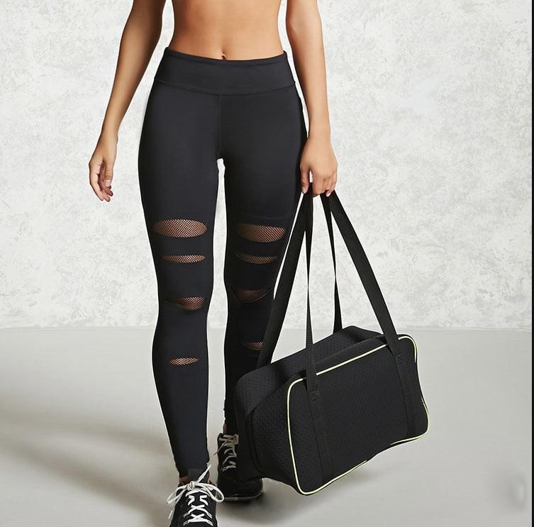 2018 Hole Mesh Workout Push Up Leggings Women Fitness Pantalones Punk Legins Jeggings Leggins Adventure Time