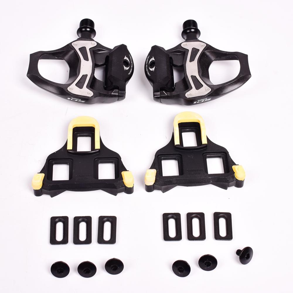 c124414d2d5 SHIMANO 105 PD 5800 R7000 Self-Locking SPD Pedals with SH11 Cleats ...