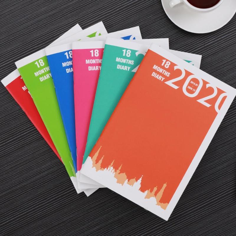 1 шт. блокнот простой календарный план Bullet Journal Cuadernos Y Libretas Carnet De Voyageur путешественники аксессуары для ноутбуков