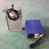 Wasserdichte ultraschall wandler mit generator für Industrielle Reinigung 40 khz 1000 watt-in Ultraschall-Reiniger aus Haushaltsgeräte bei