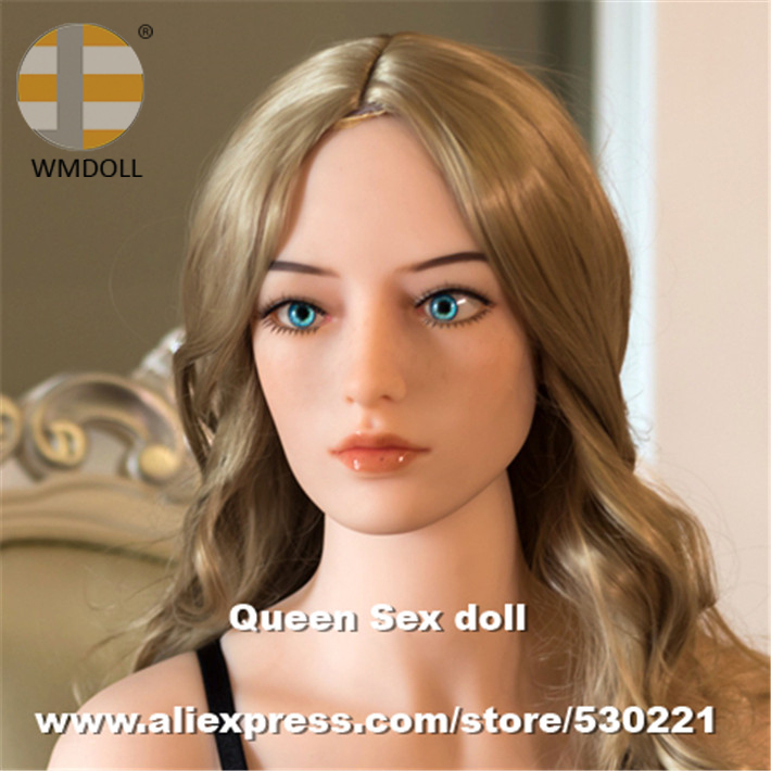 WMDOLL NEW Top quality love doll heads for real silicone sex dolls with vagina real pussy, sexy toys wmdoll new top quality love doll heads for real silicone sex dolls with vagina real pussy sexy toys