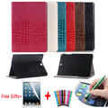 For Samsung Tab S2 T810 Case Sparkle Crocodile Leather Flip Stand Tablet Cover for Samsung Galaxy Tab S2 T813 T819N Case 9.7inch