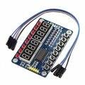 1 pc Nova 8-Bit Digital Tubo LEVOU Exibição Módulo Para AVR 8-Bit TM1638 Chave Para Arduino