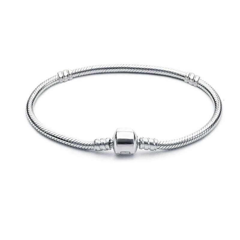 Breloque 3mm pendentif Pandora argent 925 Original Bracelet Bijoux Berloque saint valentin Mary Poppins Bijoux Sieraden
