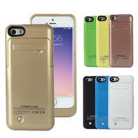 External Battery 2200mAh Charger Case Power Bank For IPhone 5 5C 5S SE Backup Battery Wireless
