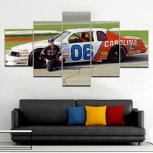 5 Panel/piece HD Print Mark Martin Busch Car modern wall posters Canvas Art Painting For home living room decoration