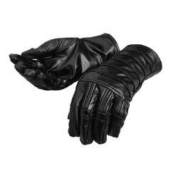 Gwiezdne wojny ostatni jedi kostium Kylo Ren Cosplay skórzane rękawiczki fantazyjne rekwizyty superbohatera dorosłych mężczyzn Halloween karnawał akcesoria Kostiumy filmowe i telewizyjne Elementy błyszczące i specjalne zastosowania -
