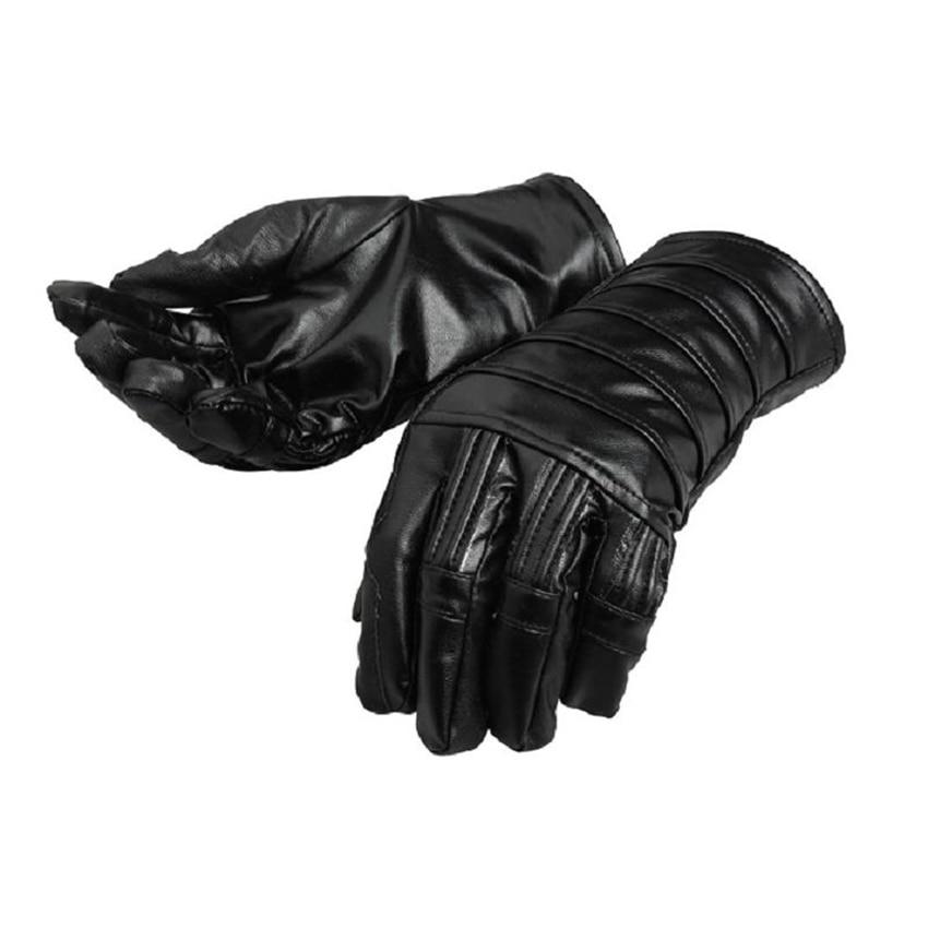 Star Wars Cosplay Gloves The Last Jedi Kylo Ren Costume Leather Gloves Fancy Prop Halloween Superhero Men Christmas Accessories