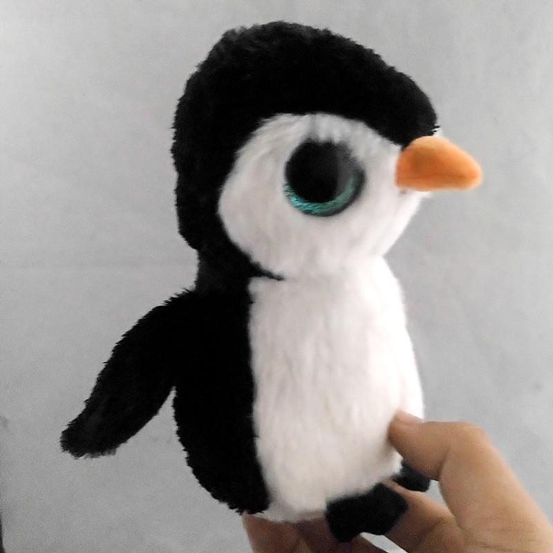 6 15 см Ty Beanie Боос оригинальный большой Средства ухода для век плюшевые игрушки куклы Черный Пингвин ty для маленьких детей со дня рождения по...