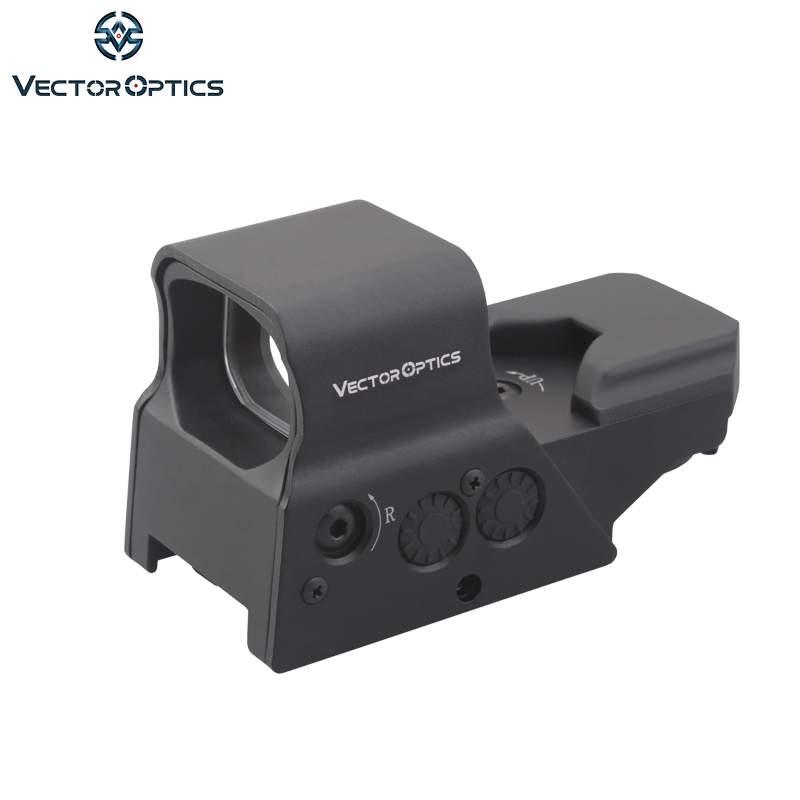 Vector Optics Omega 1x Tactical Reflex 8 Reticle Red Dot Sight Scope US Design In High End Quality Fit For .223 AK74 12ga