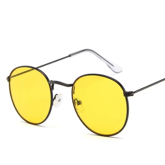 Women's Fashion Round Sunglasses