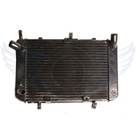 Motorcycle Replacement Grille Guard Cooling Cooler Racing Radiator For SUZUKI GSR400 600 2004 2005 2006 2007