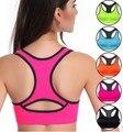 Frauen sport Bhs Sexy Nahtlose Yoga Shirts Sport Bh Top Komfortable Bh Push-Up für Sport Schlaf Fitness Kleidung 5 farbe