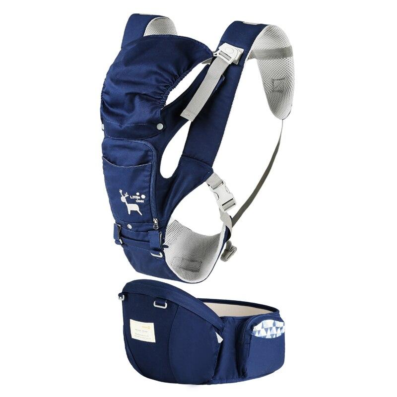 Baby Carrier Ergonomica Carrier Zaino Seggiolino Da Anca Hipseat per il neonato e prevenire o-tipo gambe fionda bambino Canguri