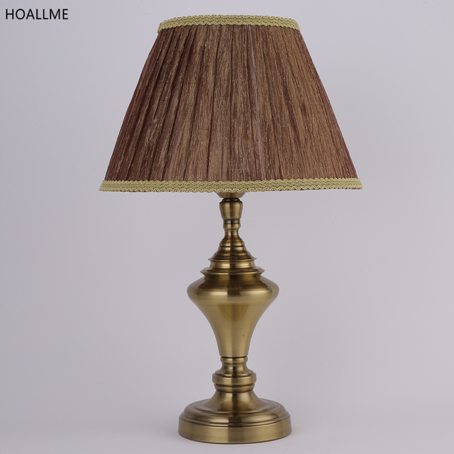 Charming Bronze Color Vintage Desk Lamp Table Lamps Fashion Table Lighting For  Living Room Mordern Simple Hotel