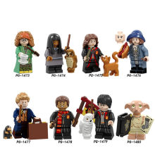 Legoings Figures Harry Potter Model Building Kits Toy For Children(China)