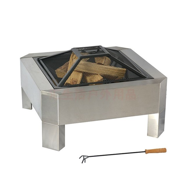 Stainless Steel Fire Pitbarbecue Grill Table Bbq Grill Bbq Motor - Grill table fire pit all in one