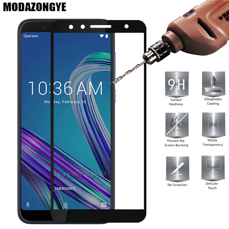 For Screen Protector Asus ZenFone Max Pro M1 ZB602KL Tempered <font><b>Glass</b></font> Asus ZenFone Max Pro M1 ZB602KL <font><b>ZB</b></font> ZB602 602 <font><b>602KL</b></font> KL X00TD image