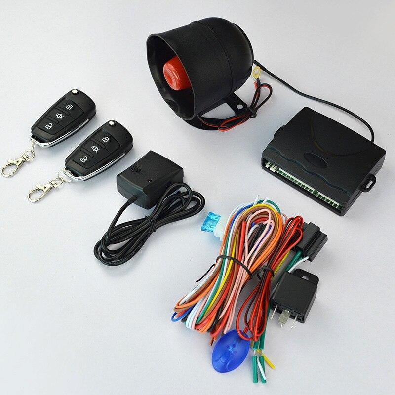 Kit de système de télécommande de voiture d'alarme de voiture chaude Anti-vol pour serrure de porte centrale verrouillage BX