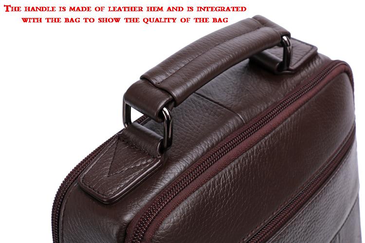 лидер продаж новинка 2017 года, стиль сумка-Messenger сумки для мужчин высокое качество естественно натуральная кожа рук сумки бизнес slay плечо сумки #206