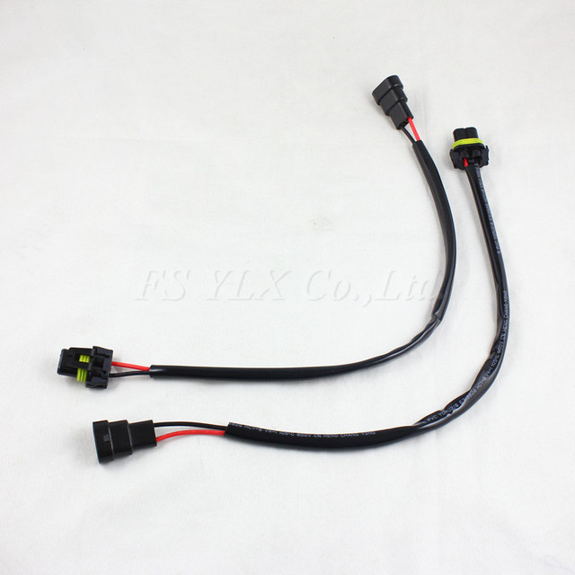 aliexpress com buy fsylx 2pcs 9006 hb4 wire harness hid xenon 9006 xenon replacement bulbs fsylx 2pcs 9006 hb4 wire harness hid xenon power cable connector ballast socket hid wiring adapter