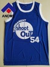 b1ddb6c92ae2  54 basketball jerseys 2018 NEW  54 Kyle Watson Tournament Shoot Out Movie Basketball  Jersey Blue size S-XXXL