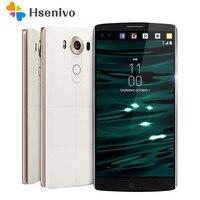 Оригинальный разблокирована LG V10 H900 4 г Android мобильного телефона гекса Core 5,7 ''16.0MP 4 ГБ Оперативная память 64 ГБ встроенная память 2560*1440 смартфон